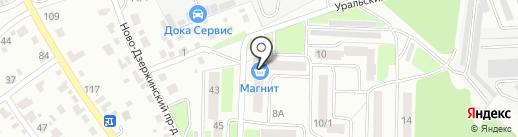 Bravo, парикмахерская на карте Брянска