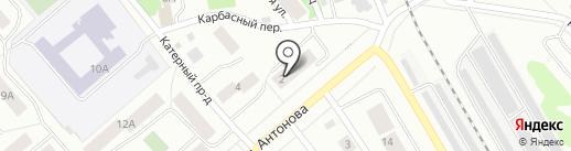 Олимпийский-1, ТСЖ на карте Петрозаводска