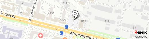 Центр детского творчества Фокинского района г. Брянска на карте Брянска