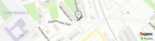 Почтовое отделение №33 на карте Петрозаводска