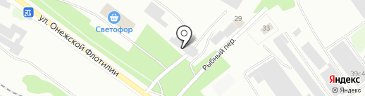 Максим на карте Петрозаводска