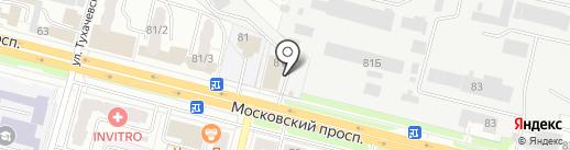 Лукоморье на карте Брянска