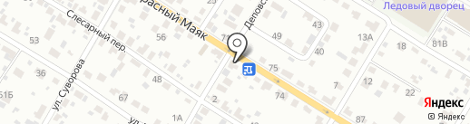 Авточехлы Брянск на карте Брянска