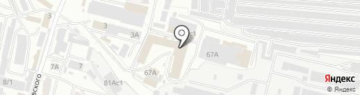 Карпенко Ю.Н. на карте Брянска