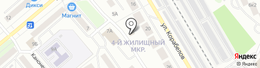 MOTOR AUTO на карте Петрозаводска