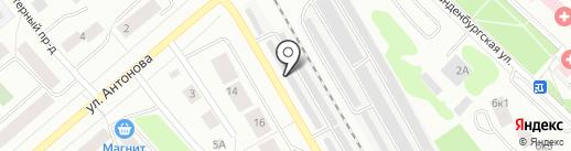 АВТОВИД на карте Петрозаводска