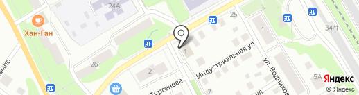Рыбная лавка на карте Петрозаводска