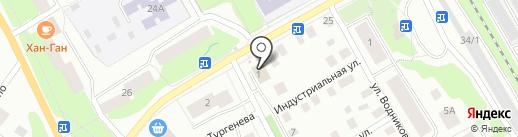Магазин крымской косметики и игрушек на карте Петрозаводска