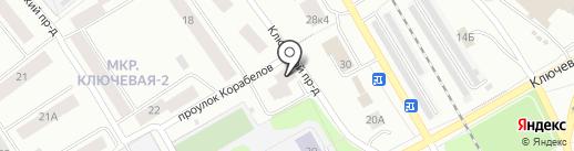 Ключевая 16, ТСЖ на карте Петрозаводска