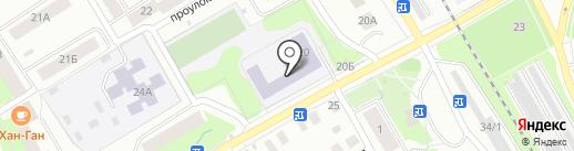 Средняя общеобразовательная школа №33 на карте Петрозаводска