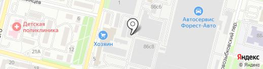 Атлас на карте Брянска