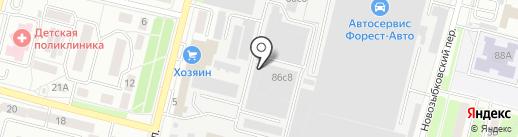 Оконные технологии на карте Брянска