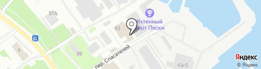 Карельская республиканская поисково-спасательная служба на карте Петрозаводска