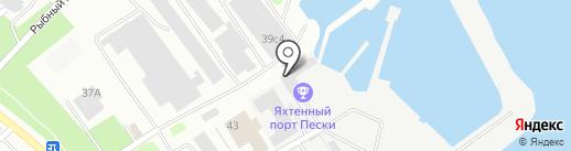 ФАРВАТЕР на карте Петрозаводска