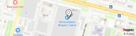 Белая Русь на карте Брянска