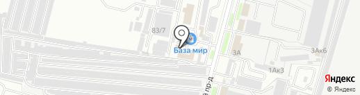 Автомастер на карте Брянска