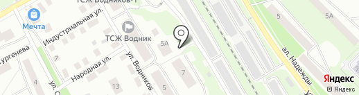Remoto на карте Петрозаводска