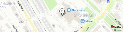 Центр спортивных игр на карте Петрозаводска