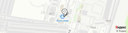 Торгкомплект на карте Брянска