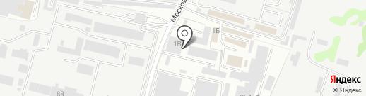 Вудсток на карте Брянска