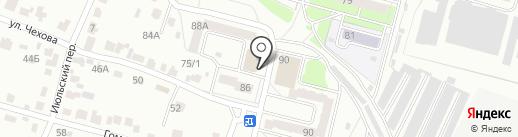 Нази на карте Брянска
