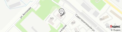 Веал на карте Петрозаводска