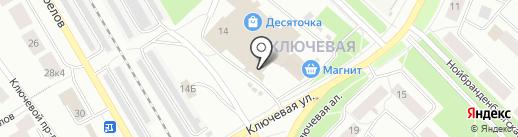 МАСИС на карте Петрозаводска