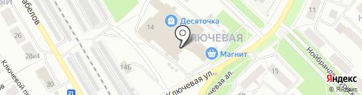 Магазин товаров для рукоделия на карте Петрозаводска