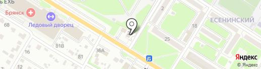 НОЙ на карте Брянска