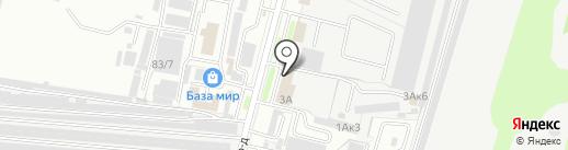 Мир автомасел на карте Брянска
