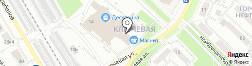 Экспресс-бистро на карте Петрозаводска
