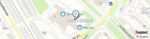 Орхидея на карте Петрозаводска