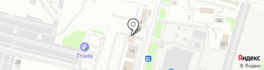 Магазин строительных материалов и сантехники на карте Брянска