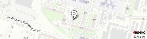 Ателье на карте Брянска