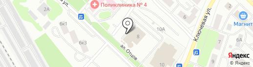 Ленторг на карте Петрозаводска