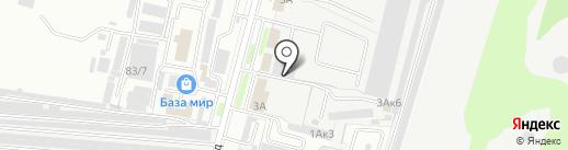 ПраймТрак на карте Брянска