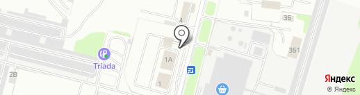 Автомойка самообслуживания на карте Брянска
