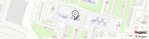 Детская школа искусств №10 на карте Брянска