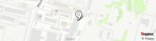 Маслобаза на карте Брянска