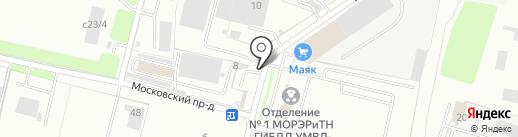 АвтоТренд на карте Брянска