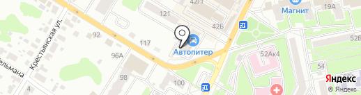 Style на карте Брянска