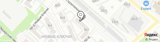 Ключевая 6/3, ТСН на карте Петрозаводска