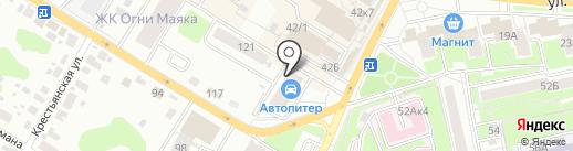 AUTOPITER на карте Брянска