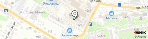Сладкий уголок на карте Брянска