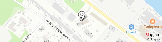 Продуктив на карте Петрозаводска