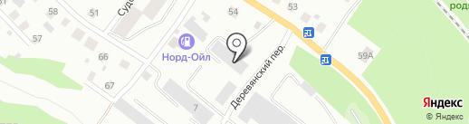 Художественная мастерская памятников и скульптур на карте Петрозаводска