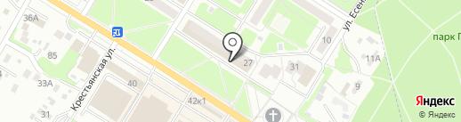 КОДМИ на карте Брянска