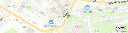 Tele2 Брянск на карте Брянска