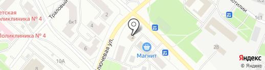 Магазин ритуальных принадлежностей на карте Петрозаводска