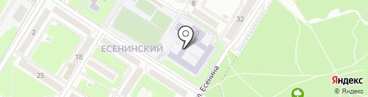 Средняя общеобразовательная школа №64 на карте Брянска